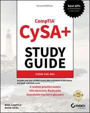 CompTIA CySA+ Study Guide Exam CS0–002
