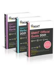 GMAT Official Guide 2021 Bundle: Books + Online