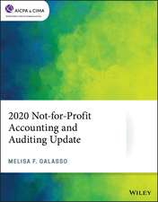 2020 Not–for–Profit Accounting and Auditing Update
