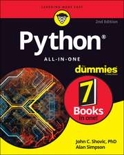 Python All–in–One For Dummies