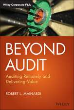 Beyond Audit: Auditing Remotely and Delivering Value