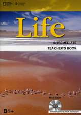 Life - First Edition B1.2/B2.1: Intermediate - Teacher's Book + Audio-CD