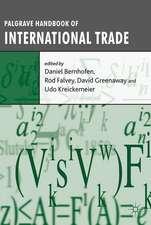 Palgrave Handbook of International Trade