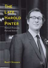The Late Harold Pinter