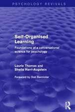 Self-Organised Learning (Psychology Revivals)