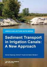 Sediment Transport in Irrigation Canals