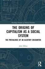 THE ORIGINS OF CAPITALISM AS A SOCI