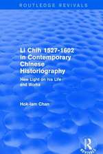 Li Chih 1527-1602 in Contemporary Chinese Historiography