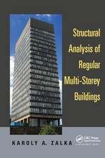 Structural Analysis of Regular Multi-Storey Buildings