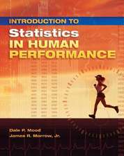 INTRODUCTION TO STATISTICS IN HUMAN PERF