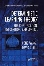 DETERMINISTIC LEARNING THEORY FOR I