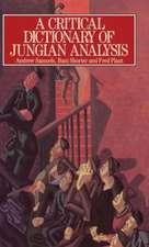 A Critical Dictionary of Jungian Analysis
