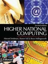 HIGHER NATIONAL COMPUTING 2E