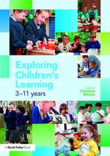Ritchie, C: Exploring Children's Learning