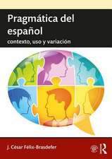 Pragmatica del espanol