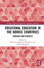 VOCATIONAL EDUCATION IN THE NORDIC