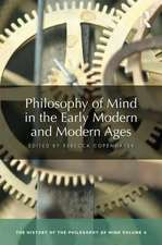 Philosophy of Mind in the Early Modern Age and Enlightenment