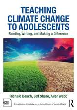 Teaching Climate Change to Adolescents