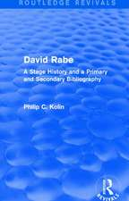 : David Rabe (1988)