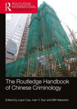 Routledge Handbook of Chinese Criminology