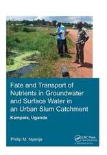 FATE AND TRANSPORT OF NUTRIENTS IN