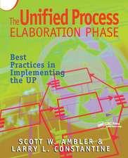 Unified Process Elaboration Phase