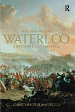 Who was Who at Waterloo