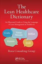 Lean Healthcare Dictionary