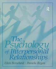 Psychology of Interpersonal Relationships