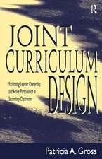 Joint Curriculum Design