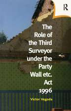 Role of the Third Surveyor under the Party Wall Act 1996