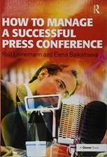 How to Manage a Successful Press Conference