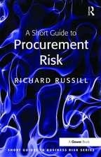 Short Guide to Procurement Risk