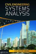 Civil Engineering Systems Analysis