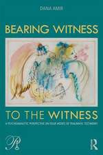Bearing Witness to the Witness