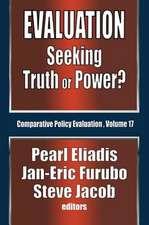 EVALUATION SEEKING TRUTH OR POWER