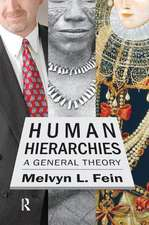HUMAN HIERARCHIES A GENERAL THEORY