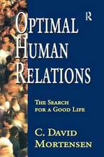 OPTIMAL HUMAN RELATIONS THE SEARCH