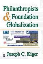 PHILANTHROPISTS AND FOUNDATION GLOB