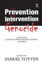 THE PREVENTION AND INTERVENTION OF