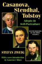 Casanova, Stendhal, Tolstoy: Adepts in Self-Portraiture