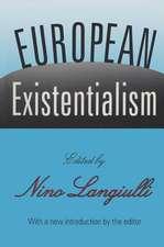 EUROPEAN EXISTENTIALISM