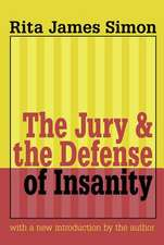 THE JURY AND THE DEFENSE OF INSANIT
