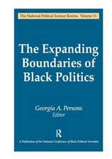 Expanding Boundaries of Black Politics