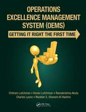 Operations Excellence Management System (OEMS)