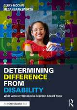 Determining Difference from Disability