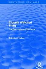 Closely Watched Films (Routledge Revivals)