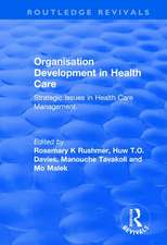 ORGANISATION DEVELOPMENT IN HEALTH