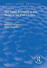 THE ITALIAN ECONOMY AT THE DAWN OF
