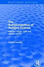THE EUROPEANISATION OF REFUGEE POLI